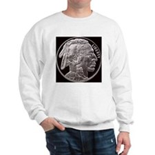 Silver Indian-Buffalo Sweatshirt