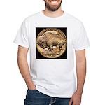 Nickel Buffalo White T-Shirt