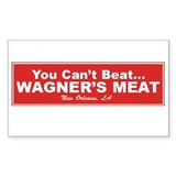 Wagner's Meat Rectangle Decal