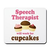 Funny Speech Therapist Mousepad