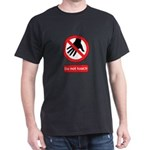 Do not touch sign Dark T-Shirt
