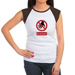 Do not touch sign Women's Cap Sleeve T-Shirt