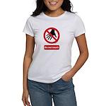 Do not touch sign Women's T-Shirt