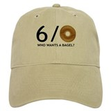 Who Wants A Bagel - Tennis Baseball Cap