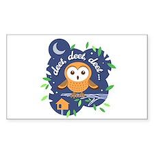 Deet, Deet, Deet Sticker (Rectangle 50 pk)