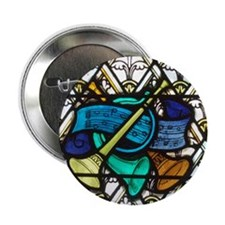 "Cute Religious music 2.25"" Button"