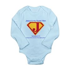 SuperHero Long Sleeve Infant Bodysuit