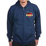 NCIS Jimmy Zip Hoodie (dark)