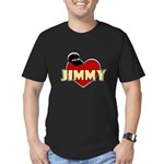 NCIS Jimmy Men's Fitted T-Shirt (dark)