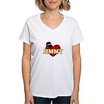 NCIS Jimmy Women's V-Neck T-Shirt