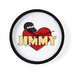NCIS Jimmy Wall Clock