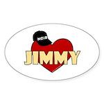 NCIS Jimmy Sticker (Oval 10 pk)