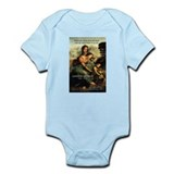 Leonardo da Vinci Art Spirit Infant Creeper