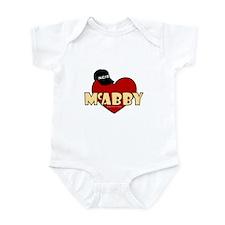 NCIS McAbby Infant Bodysuit