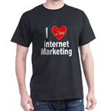 I Love Internet Marketing (Front) T-Shirt