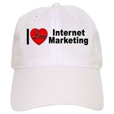 I Love Internet Marketing Baseball Cap