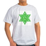 Celtic Star of David Ash Grey T-Shirt