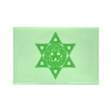 Celtic Star of David Rectangle Magnet