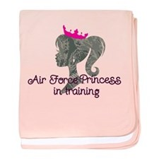 Air Force Princess Infant Blanket