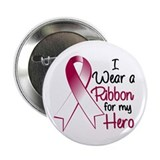 "Hero - Head Neck Cancer 2.25"" Button (100 pack)"
