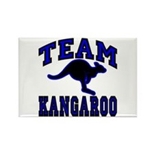 Team Kangaroo II Rectangle Magnet (10 pack)