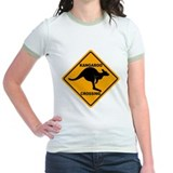 Kangaroo Crossing Sign T
