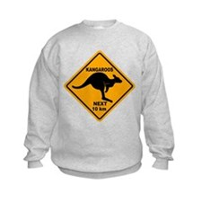 Kangaroos Next 10 km Sign Sweatshirt