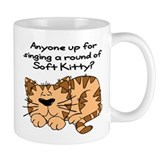 Singing a round of Soft Kitty Mug