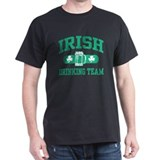 Irish Drinking Team Black T-Shirt