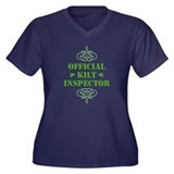 Official Kilt Inspector Women's Plus Size V-Neck D