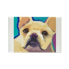 Funny Frenchie Rectangle Magnet