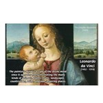 Leonardo da Vinci Madonna Postcards (Package of 8)