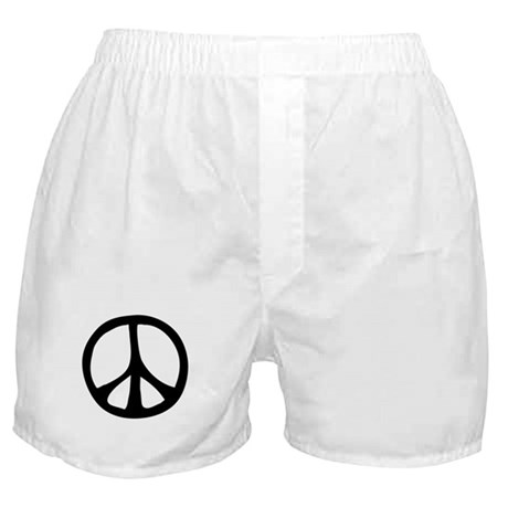 Flowing Peace Sign Boxer Shorts