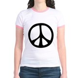 Flowing Peace Sign T