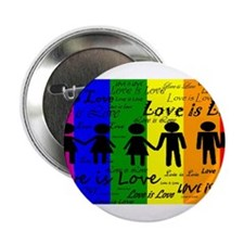 "Love is Love 2.25"" Button"