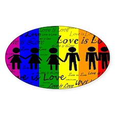 Love is Love Decal