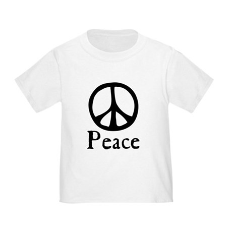 Flowing 'Peace' Sign Toddler T-Shirt