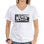 Some LA Females. . . Women's V-Neck T-Shirt