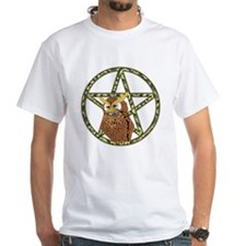 vines Pentagram Owl Shirt