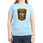 Clay County Sheriff's Dept. Women's Light T-Shirt