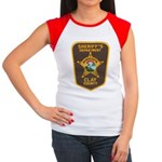 Clay County Sheriff's Dept. Women's Cap Sleeve T-S