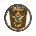 Clay County Sheriff's Dept. Wall Clock