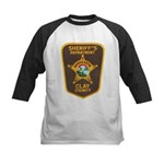 Clay County Sheriff's Dept. Kids Baseball Jersey
