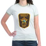 Clay County Sheriff's Dept. Jr. Ringer T-Shirt