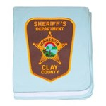Clay County Sheriff's Dept. Infant Blanket