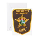 Clay County Sheriff's Dept. Greeting Cards (Pk of