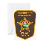 Clay County Sheriff's Dept. Greeting Card