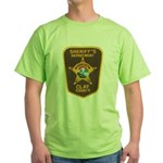 Clay County Sheriff's Dept. Green T-Shirt