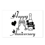 Cool Anniversaries Postcards (Package of 8)