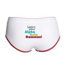 Alpha Beta Gammas Women's Boy Brief